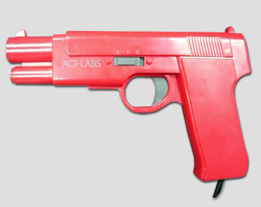 New PC &TV USB Arcade light guns (Red)