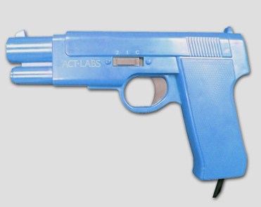 New PC &TV USB Arcade Light Guns (Blue)