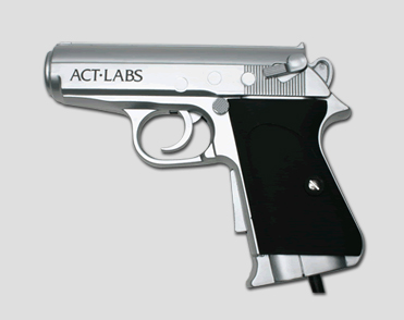 New PC &TV USB Arcade Light Guns (Silver)